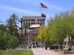 Arizona capitol grounds