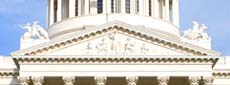 pediment and statuary