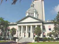 Florida old and new capitols