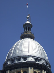 Illinois capitol dome