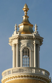 cupola on Massachusetts dome