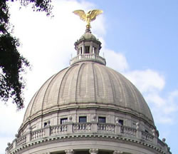 Mississippi capitol dome