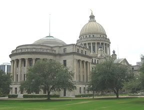 Mississippi capitol side view