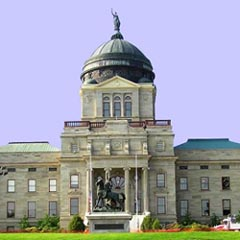 Montana capitol front
