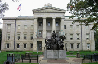 North Carolina capitol front