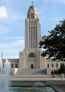 nebraska capitol tower