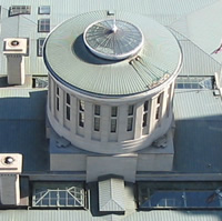 Aerial view of Ohio statehouse cupola