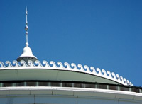 Cupola trim and finial