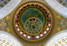 Inner dome from rotunda