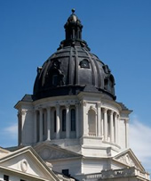 South Dakota dome and drum