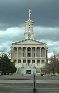 Tennessee capitol, end view