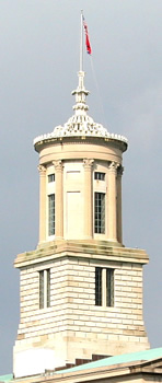 Tennessee capitol cupola tower