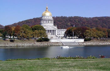 West Virginia capitol waterfront