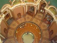 View of rotunda from dome balcony